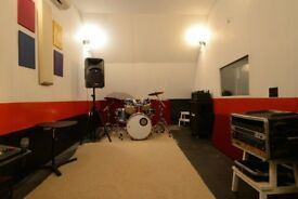Practise Rooms and Rehearsal Studios