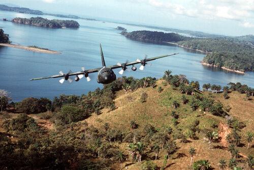 1989- U.S. Ar Force C-130-Invasion of Panama-Operation Just Cause