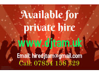 DJ Hire Bromley & Sevenoaks boroughs and ALL London postcodes. Professional setup and lighting.