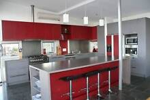 Kitchen wall cabinets and island bench Hobart CBD Hobart City Preview