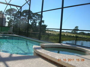 ORLANDO DISNEY VACATION 4 / 5 BEDROOM POOL HOME GATED $690 WK