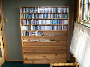 compact disc bookcase