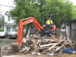 WASTE/JUNK REMOVAL  INTERIOR/EXTERIOR DEMOLITION  EXCAVATING Ottawa Ottawa / Gatineau Area image 4