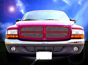97-03 Dodge Durango 97-04 Dakota Billet Grille Grill 2000 2001 2002 2003 2004
