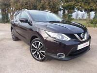 2014 14 Nissan Qashqai 1.6dCi Diesel 6 Speed Manual Tekna with Navigation