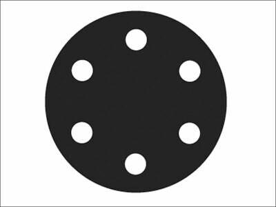 Flexovit - Schleifscheiben mit Klettverschluss, 150 mm, sortiert (6er-Pack)