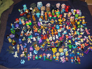Disney Cartoons Characters Lot of 205 pc Toys Mix