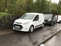 2014 14 FORD TRANSIT CONNECT 1.6 200 TREND 95 BHP AIR CON 3 SEATS ONE OWNER FSH