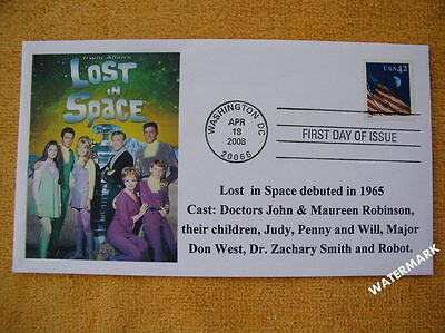 RARE Lost in Space #6 First Day Cover April 18, 2008
