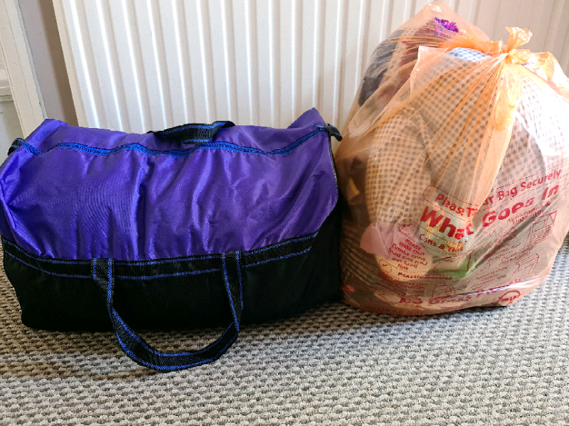 Free bags of clothes