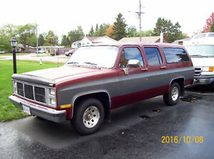 1987 GMC SUBURBAN - WILL CERTIFY - NEEDS NOTHING AT ALL