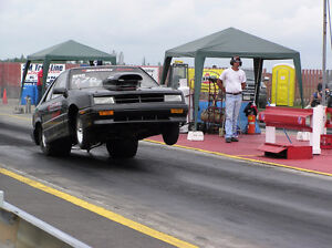1992 DODGE SHADOW DRAG CAR