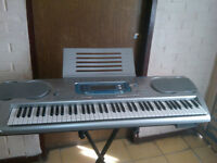 Casio keyboard WK-3000 with Stand and Adapter (76 keys)