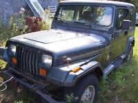 1994 Jeep sahara 4litre manuel et jeep de bouette 4x4