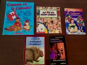 Variety of French Children Books great for Back to School