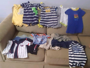 6-12 month boys summer lot