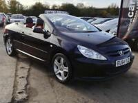 2004 PEUGEOT 307CC CONVERTIBLE 2.0 FULL SERVICE HISTORY FULL LEATHER
