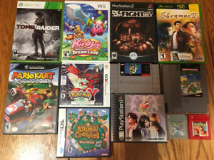 Massive Game Collection! Rare and Fantastic Titles! Over 250+