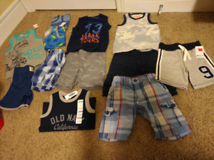 Boys summer clothes - size 3T