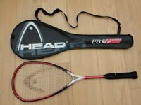 SELECTION OF TENNIS, SQUASH, & BADMINTON RAQUETS WITH HEAD CARRY BAG.