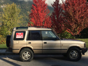 1996 Land Rover Discovery - Great Winter Vehicle!