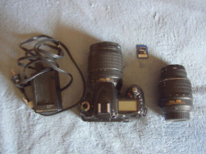 Nikon D90 Camera Plus lenses +