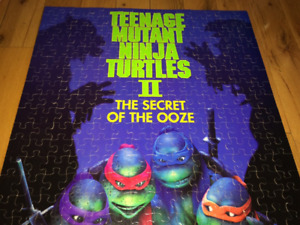 tmnt tortue ninja puzzle movie poster Teenage Mutant Ninja turt