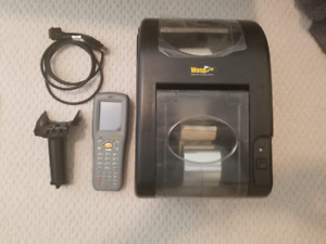 Wasp Inventory Mobile Computer, Scanner, Software, Printer