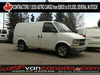 █ ♣ █ CONTRACTORS ! █ ♣ █  2OO5 Chev Astro Cargo $58OO OFF LEASE