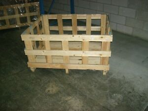 WOOD CRATES / CRATE A BOIS