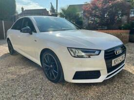 image for 2017 Audi A4 1.4 TFSI Black Edition (s/s) 4dr Saloon Petrol Manual