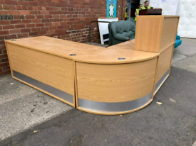 Reception desk £150