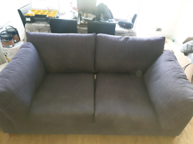 Grey Double Sofa Bed (Willow & Hall Mattress)