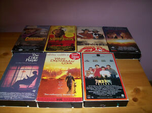 vhs movies/movie holder Kawartha Lakes Peterborough Area image 3
