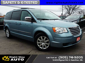 2010 Chrysler Town&Country Touring | DVDs | SAFETY & E-TESTED