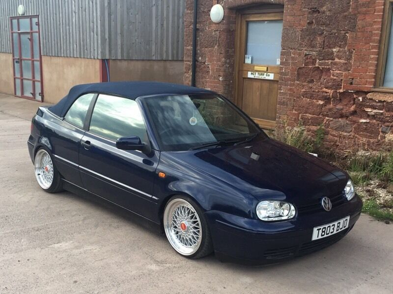 vw golf vr6 mk3 5 cabrio in topsham devon gumtree. Black Bedroom Furniture Sets. Home Design Ideas
