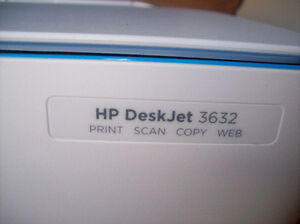 HP DeskJet 3632 All-in-One Printer London Ontario image 2