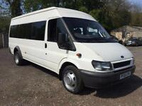 2004 Ford Transit 2.4TDCi 350 LWB Minibus 4dr