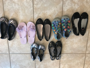 Girls Brand Name Footwear - sizes 2 and 3