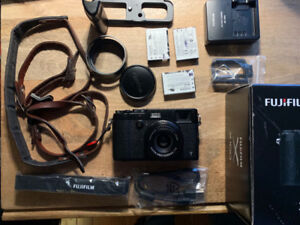 Black X100T  - Full Kit with lots of accessories