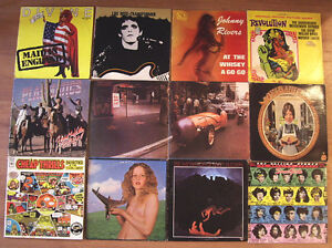 Classic Vinyl LP Records including some Scarce Albums or Covers