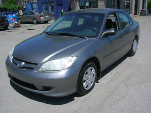 2005 Honda Civic SE Berline  AIR CLIMATISÉ