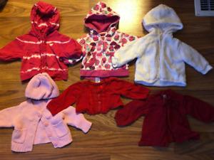 Girls Size 0-3 Sweaters