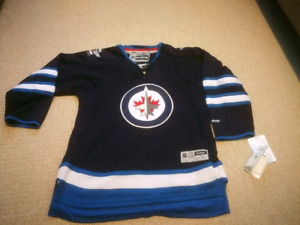 Winnipeg Jets youth Reebok Official hockey Jersey