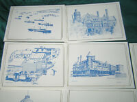 Historic Sydney buildings Cards by Toni McIntosh 1983
