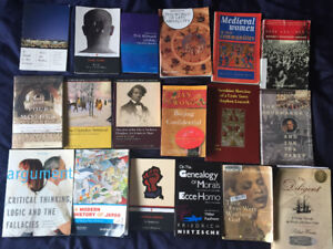 Selling a TON of cheap history/poli/philosophy/english books
