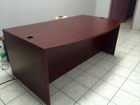 Office Furniture Deal! Desk, Conference Table and Free Cabinet!