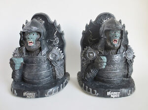 Planet of the Apes NECCA Attar Bookends 2001