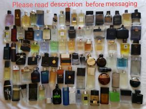 Perfume samples 92 choices sample