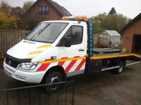 Recovery car transporter